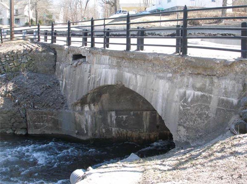 aging village bridge