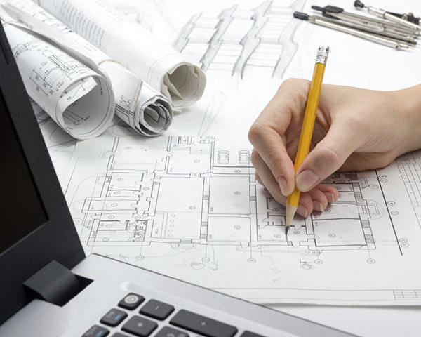 structural engineer completing construction phase services